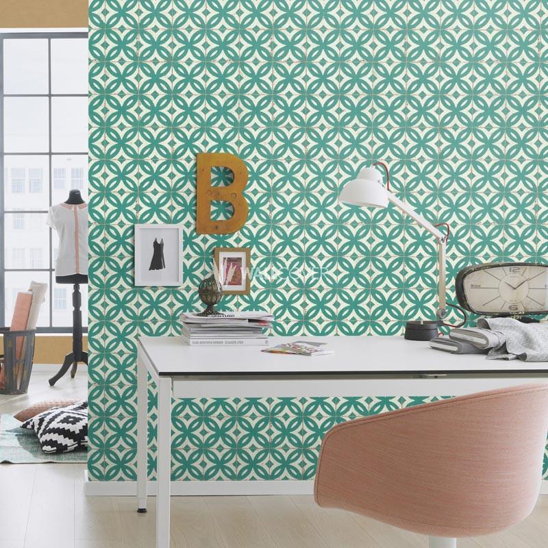 papier peint 524727 pure vintage en ligne. Black Bedroom Furniture Sets. Home Design Ideas