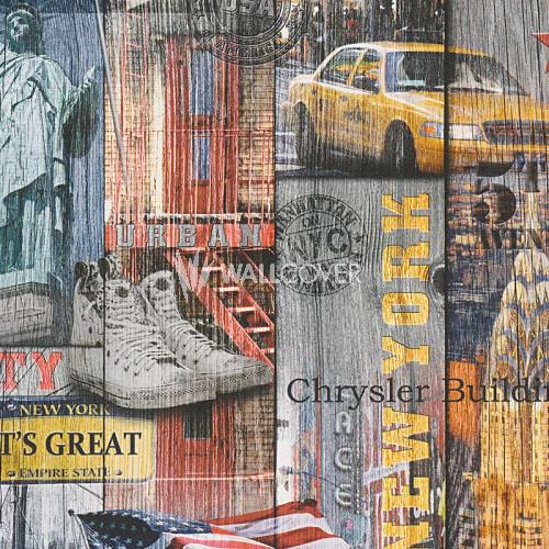 301701 Authentic Walls Lutèce