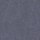 609318 Blue Velvet Rasch